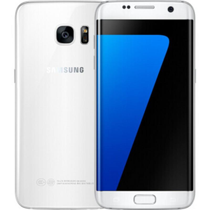 Samsung Galaxy S7 Edge G935F & G935V Smartphone 5.5'' 4GB RAM 32GB ROM WIFI Single SIM 12MP 1080P 4G LTE Quad Core Mobile Phone white_32G