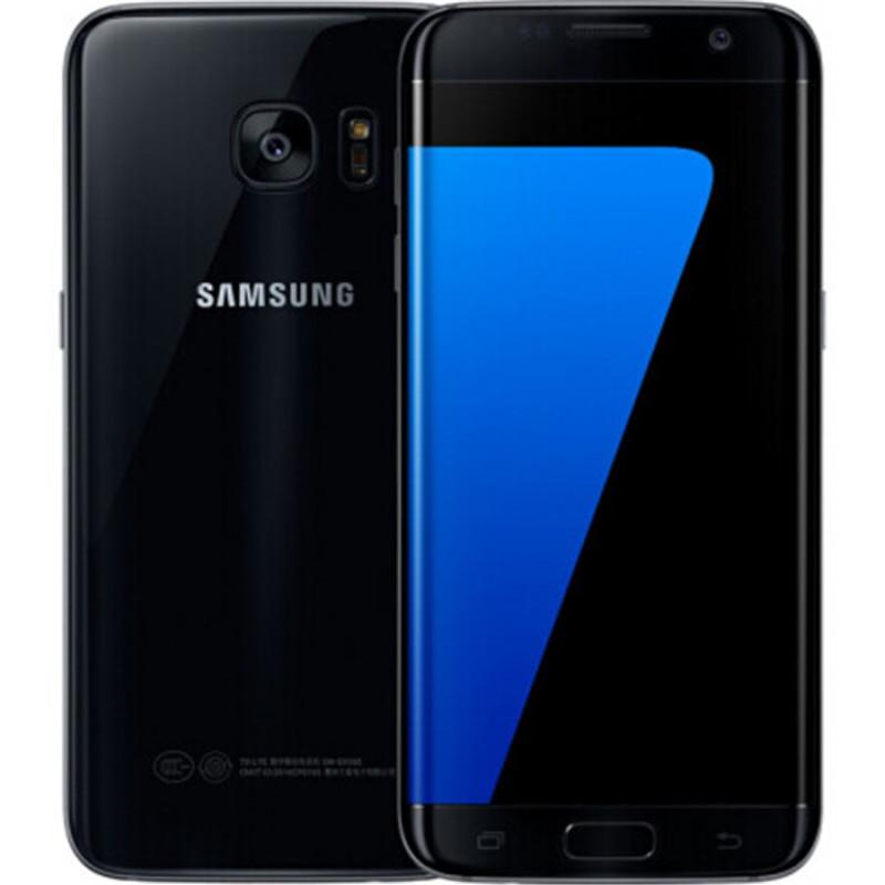 Samsung Galaxy S7 Edge G935F & G935V Smartphone 5.5'' 4GB RAM 32GB ROM WIFI Single SIM 12MP 1080P 4G LTE Quad Core Mobile Phone black_32G
