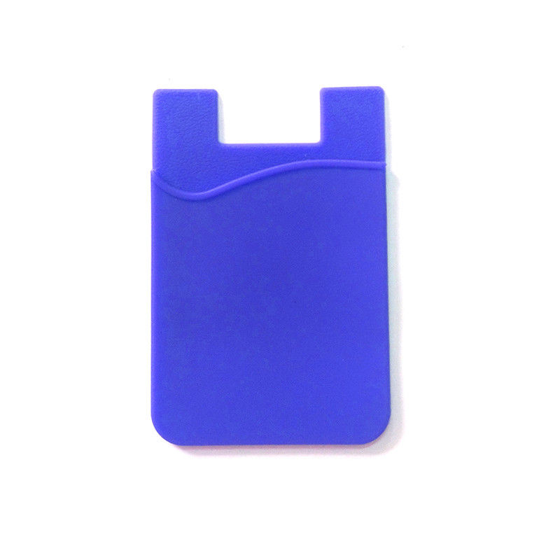 Adhesive Silicone Card Pocket Pouch Case