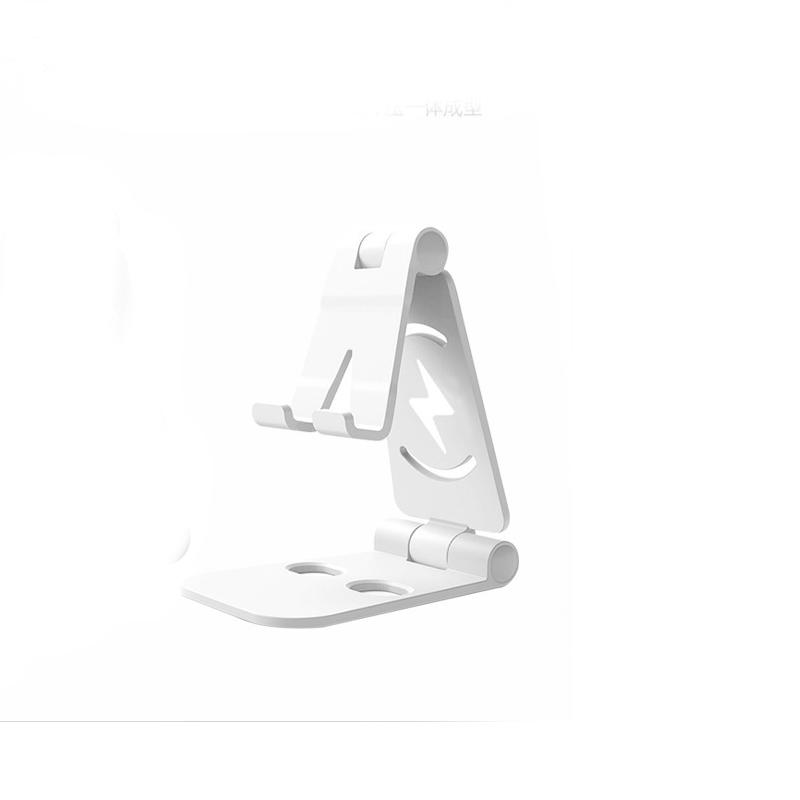 Universal Foldable Desktop Desk Stand Holder Mount for Cell Phone Tablet Pad Silver