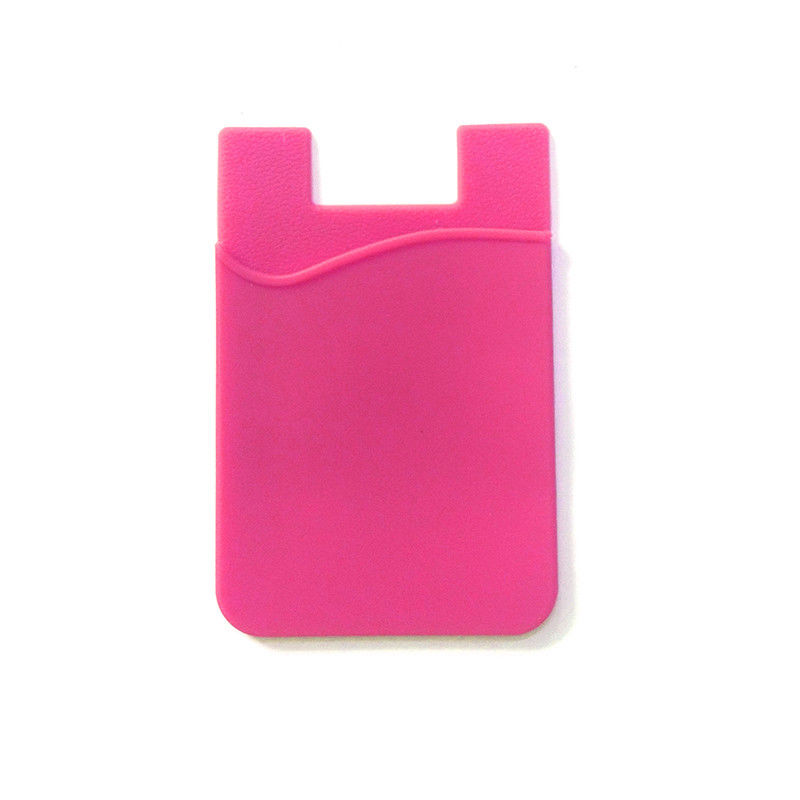 Silicone Card Pocket Money Pouch Case