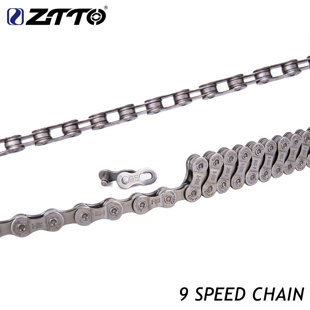 ZTTO 9/10/27/30 Speed Bike Hollow Chain Mountain Cycling Bicycle Chain Bicycle Parts chain