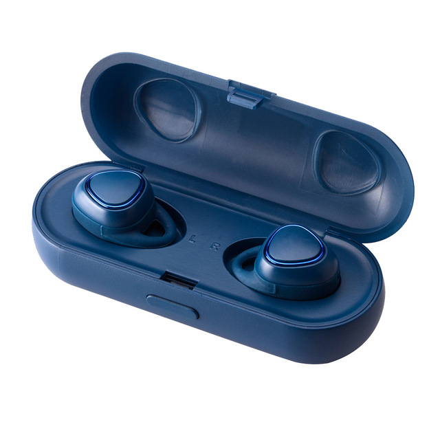 For Samsung Gear iConX SM-R150 In-Ear Headphones Earbuds Sport Wireless Headsets blue
