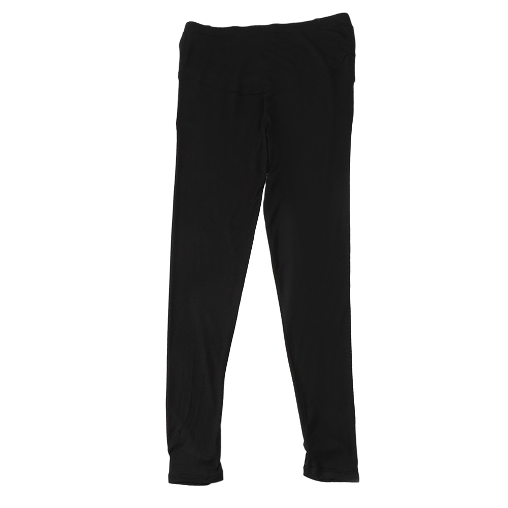 Pregnant Pants Spring Summer Autumn Outerwear Thin Style Modal Loose Casual Foot Trousers black_M