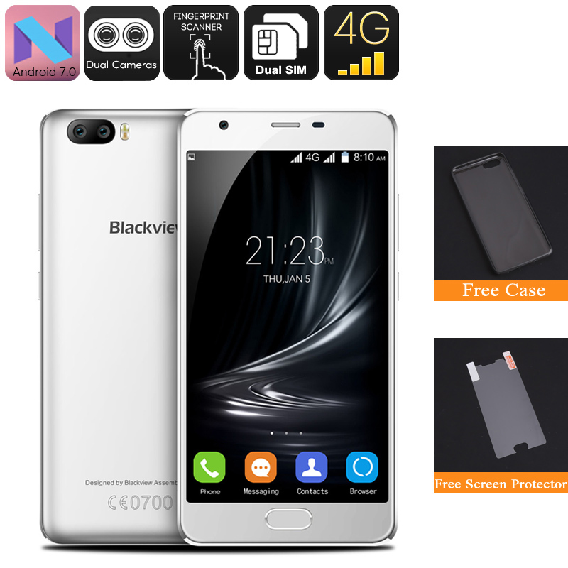 Blackview A9 Pro Android Phone (White)