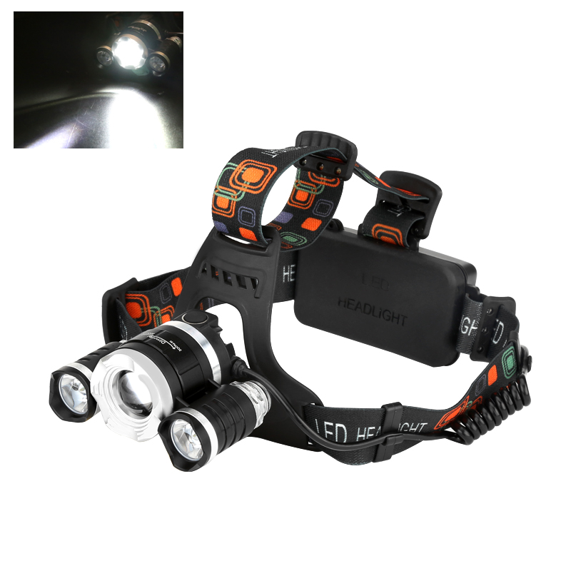 CREE XM-L T6 LED Headlamp