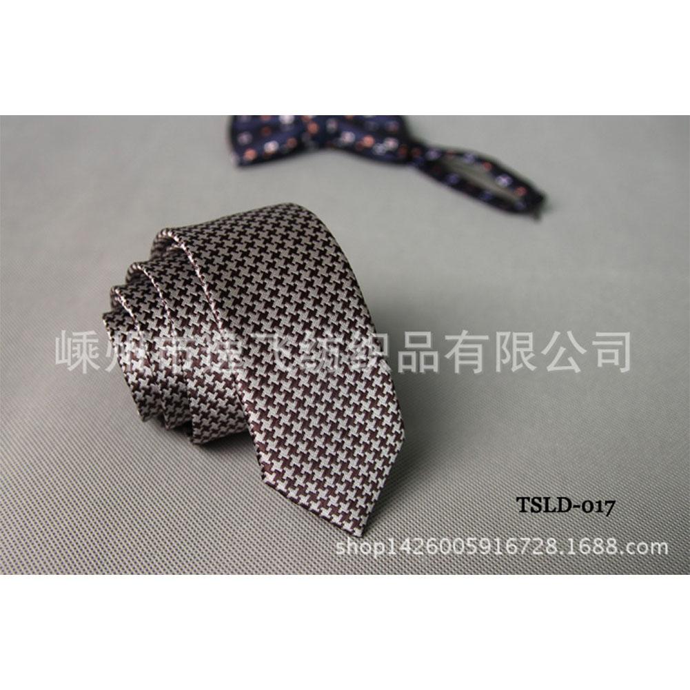 5cm Skinny Tie Classic Silk Solid Dot Narrow Slim Necktie Accessories Wedding Banquet Host Photo TSLD-017