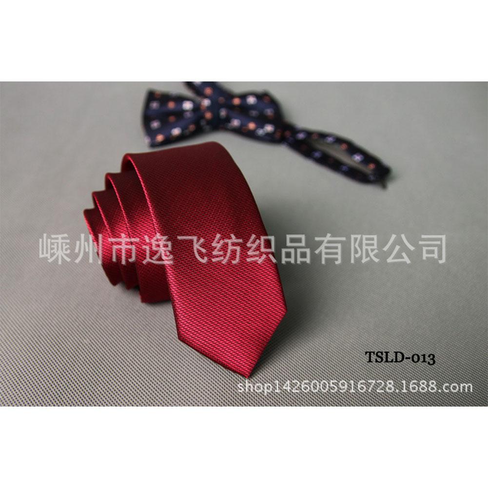 5cm Skinny Tie Classic Silk Solid Dot Narrow Slim Necktie Accessories Wedding Banquet Host Photo TSLD-013