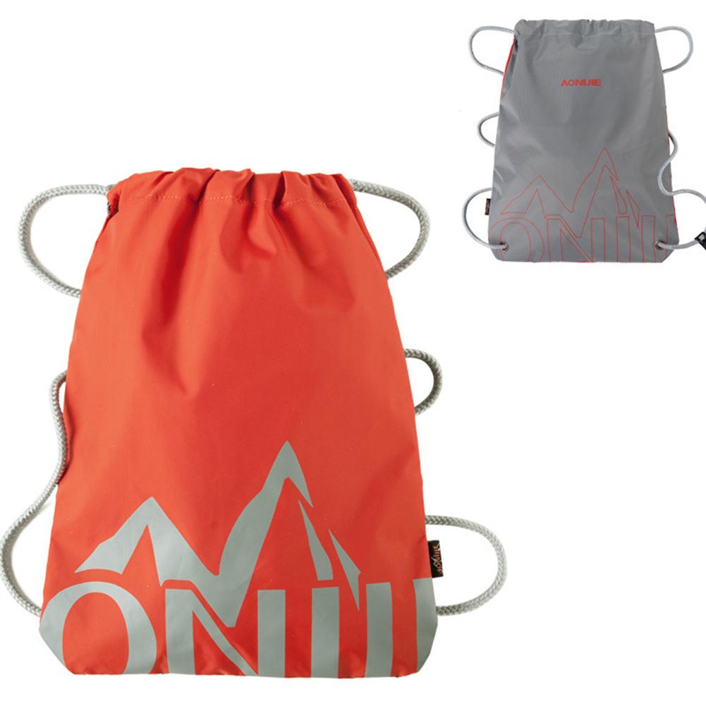 Lightweight Portable Nylon Storage Bag Drawstring Backpack