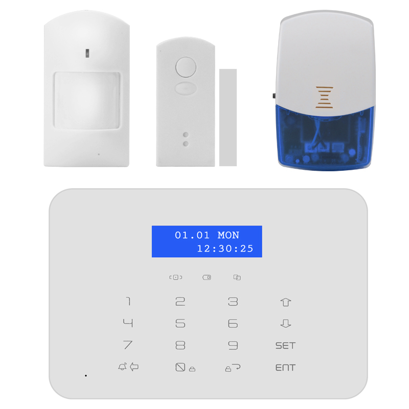 GSM+PSTN Wireless Security System