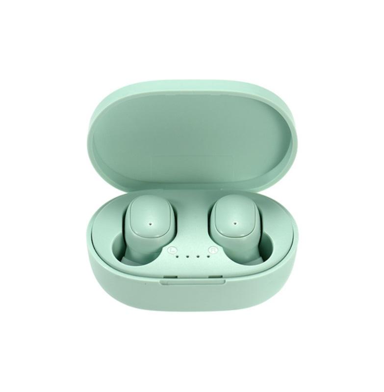 A6s Pro Bluetooth Headset Multicolor Binaural Communication Stereo Wireless Headphone green