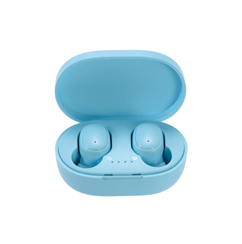 A6s Pro Bluetooth Headset Multicolor Binaural Communication Stereo Wireless Headphone blue