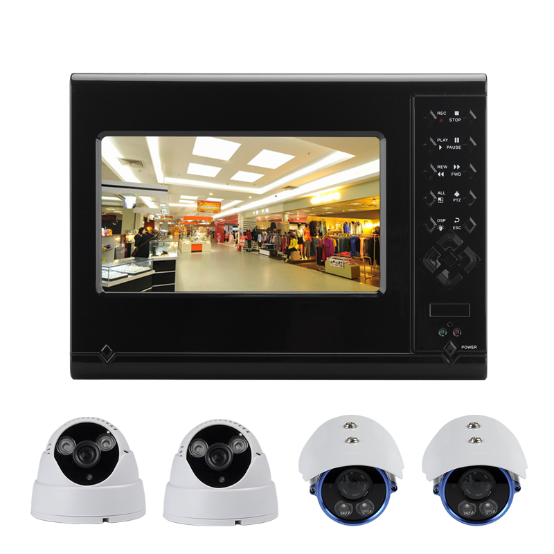 4 Camera 4 Channel DVR Kit