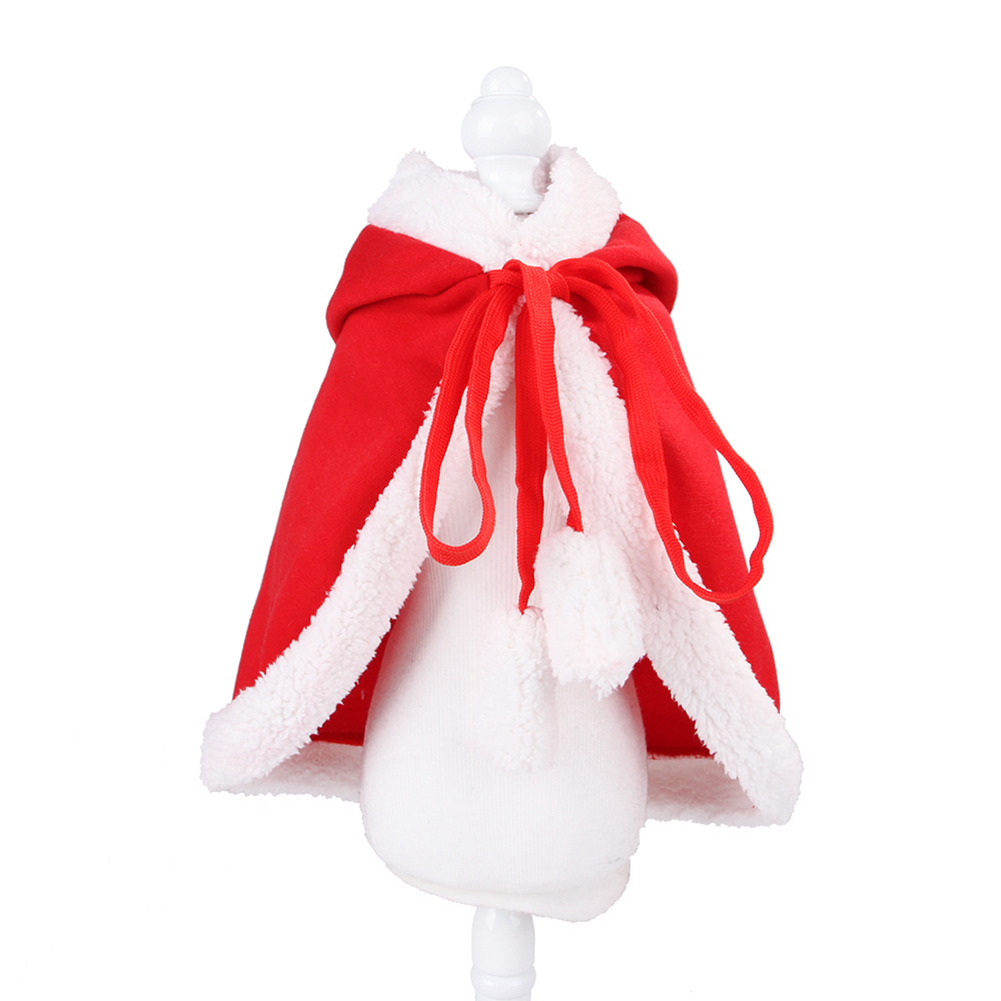 Funny Pet Cloak for Cats Christmas Halloween Cosplay L