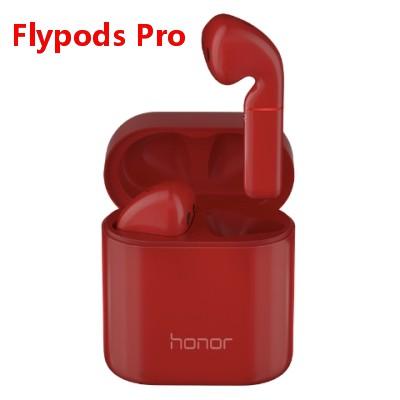 Original HUAWEI Honor Flypods Pro Wireless Earphone Hi-Fi HI-RES WIRELESS AUDIO Waterproof IP54 Wireless Charge Bluetooth 5.0 red