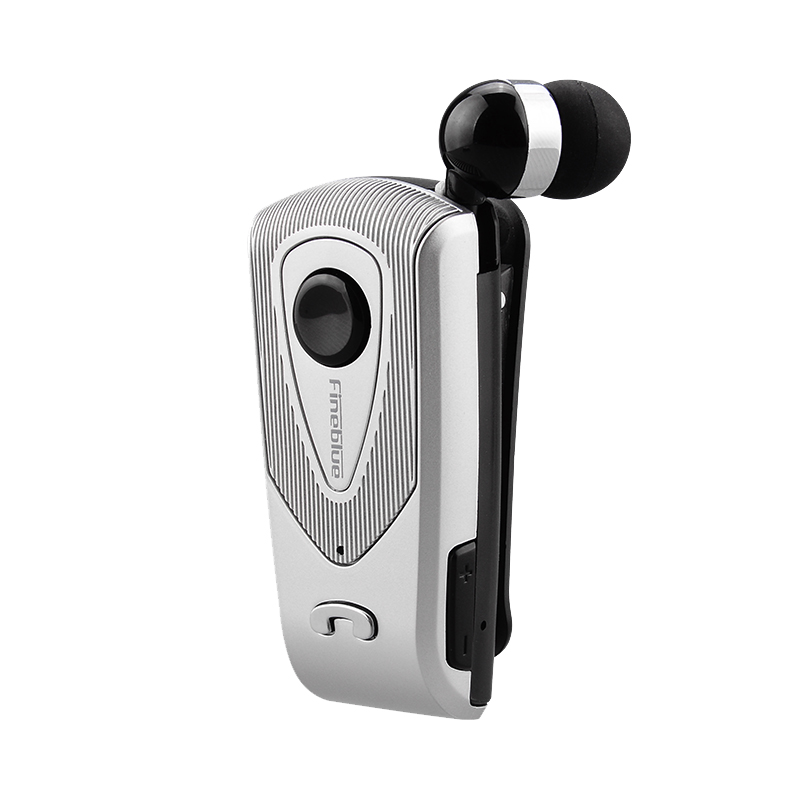 Fineblue Wireless Bluetooth Headset Silver