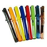 [EU Direct] 8 PCS Jinhao 599 Fountain Pens Diversity Set Transparent and Unique Style