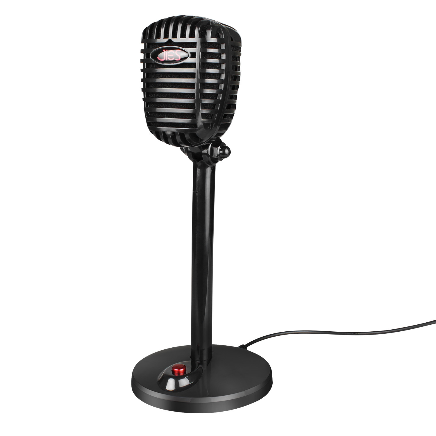Computer Rotatable Usb  Microphone Drive-free Voice Chat Device Video Conference Microphone black