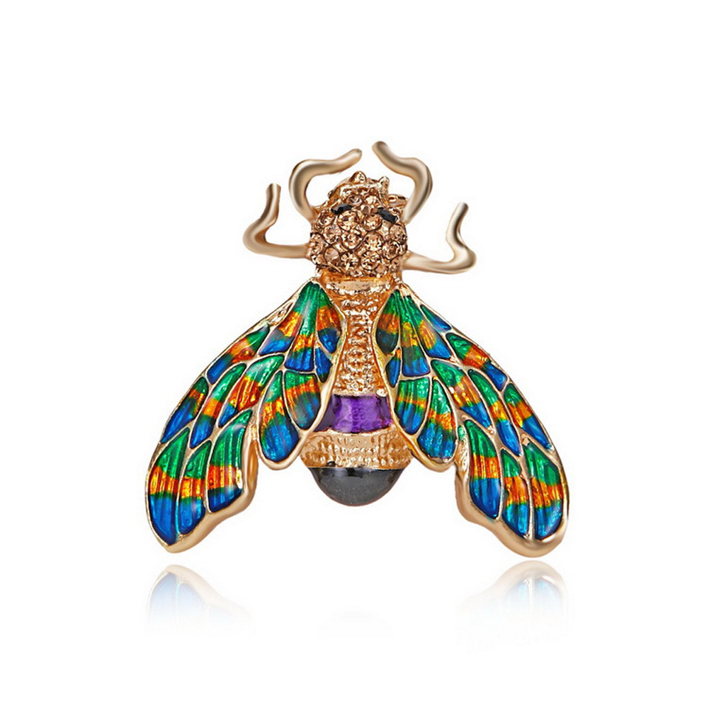 Women's Brooch Alloy Bee-shape Animal Brooch Pin Accessories