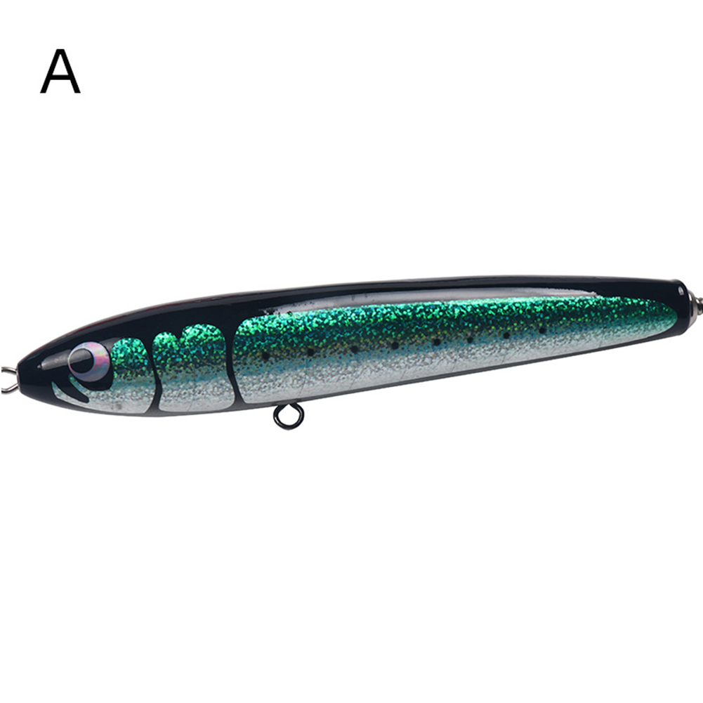 Fishing Bait Deep Sea Long Casting Wooden Fishing Lure 140g 24cm A section_140g