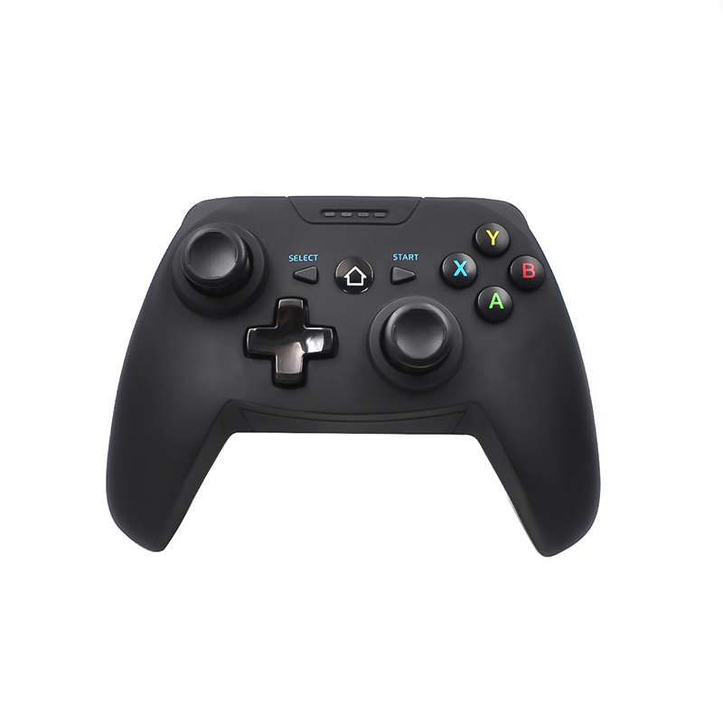 For DJI RoboMaster S1 Game Console Gamepad Wireless-Bluetooth Gamepad Game Joystick Controller with Phone Holder black
