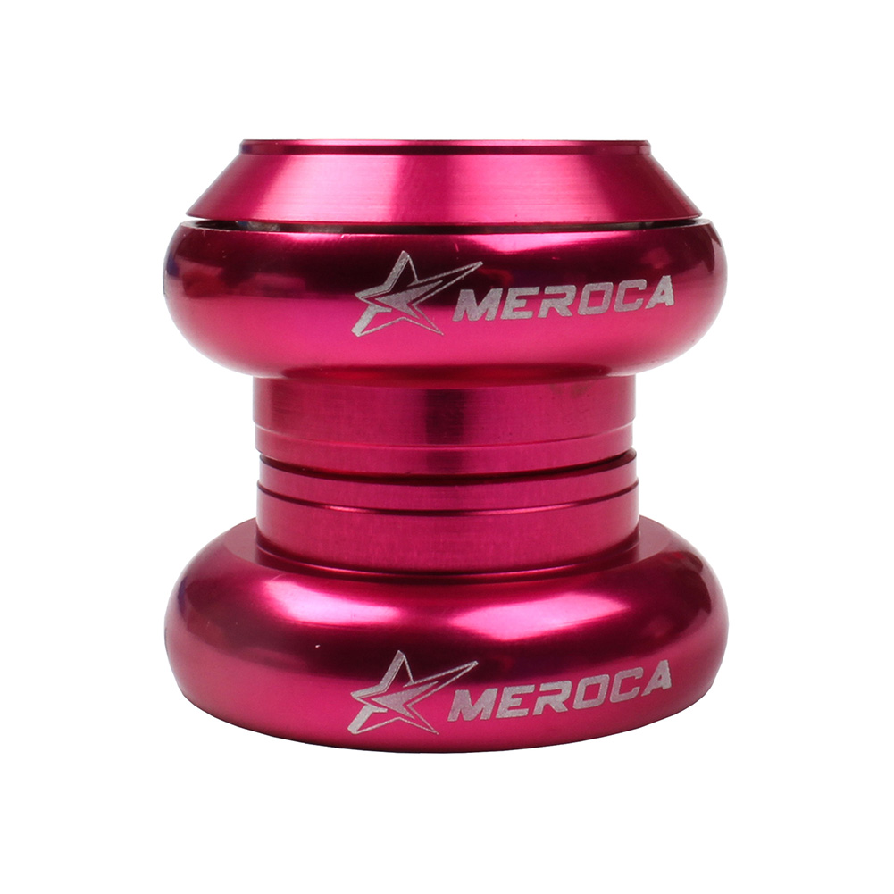 MEROCA Bicycle Headset 29.6mm Headset for Kid Balance Bike special for strider & kuka Children balance bicycle Rose red