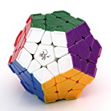 [US Direct] Lujex DaYan Megaminx 1 12-axis 3-rank Dodecahedron Magic Cube with Corner Ridges - Multicolor