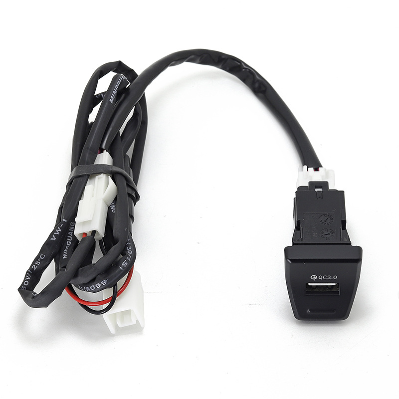 For Toyota Rav4 2019 2020 5th Central Control Position Qc3.0 Car  Charger Lossless Upgrade QC3.0