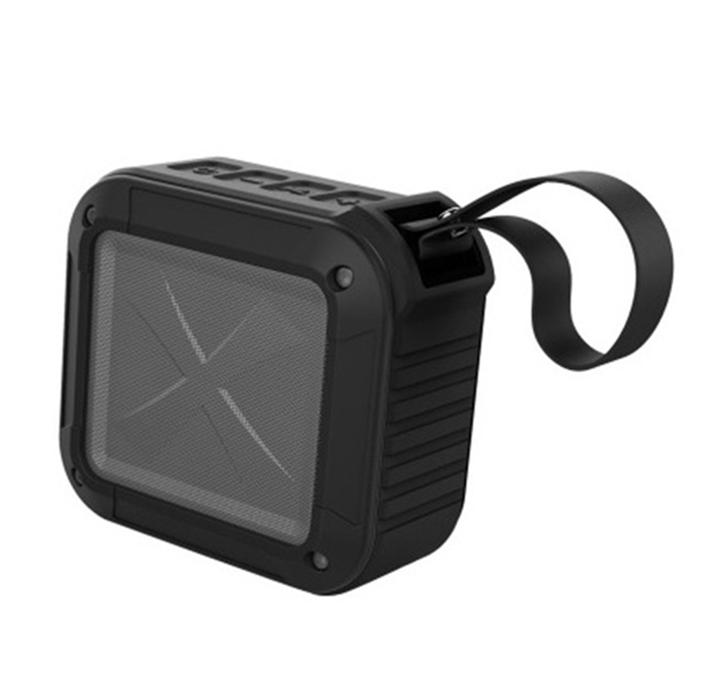 W-KING S7 Mini Wireless Waterproof Loudspeaker with TF/FM/AUX/NFC Bluetooth Bike Speaker for Phones Black