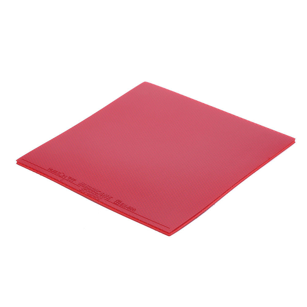Inverted Rubber Sponge For Table Tennis Racket Ping Pong Paddle Red/Black TG red
