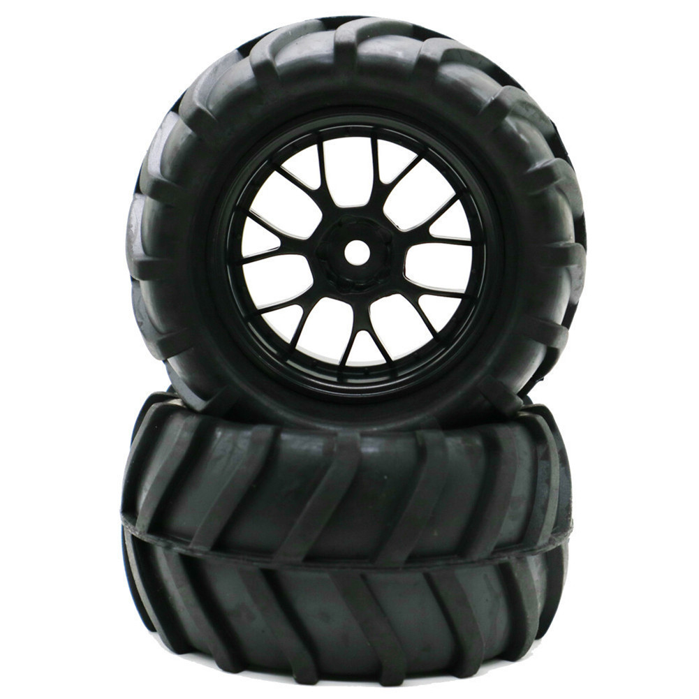 1/16 Tires for Remote Control Car Racing Off-road Drift Truck Wheel : Reticulate