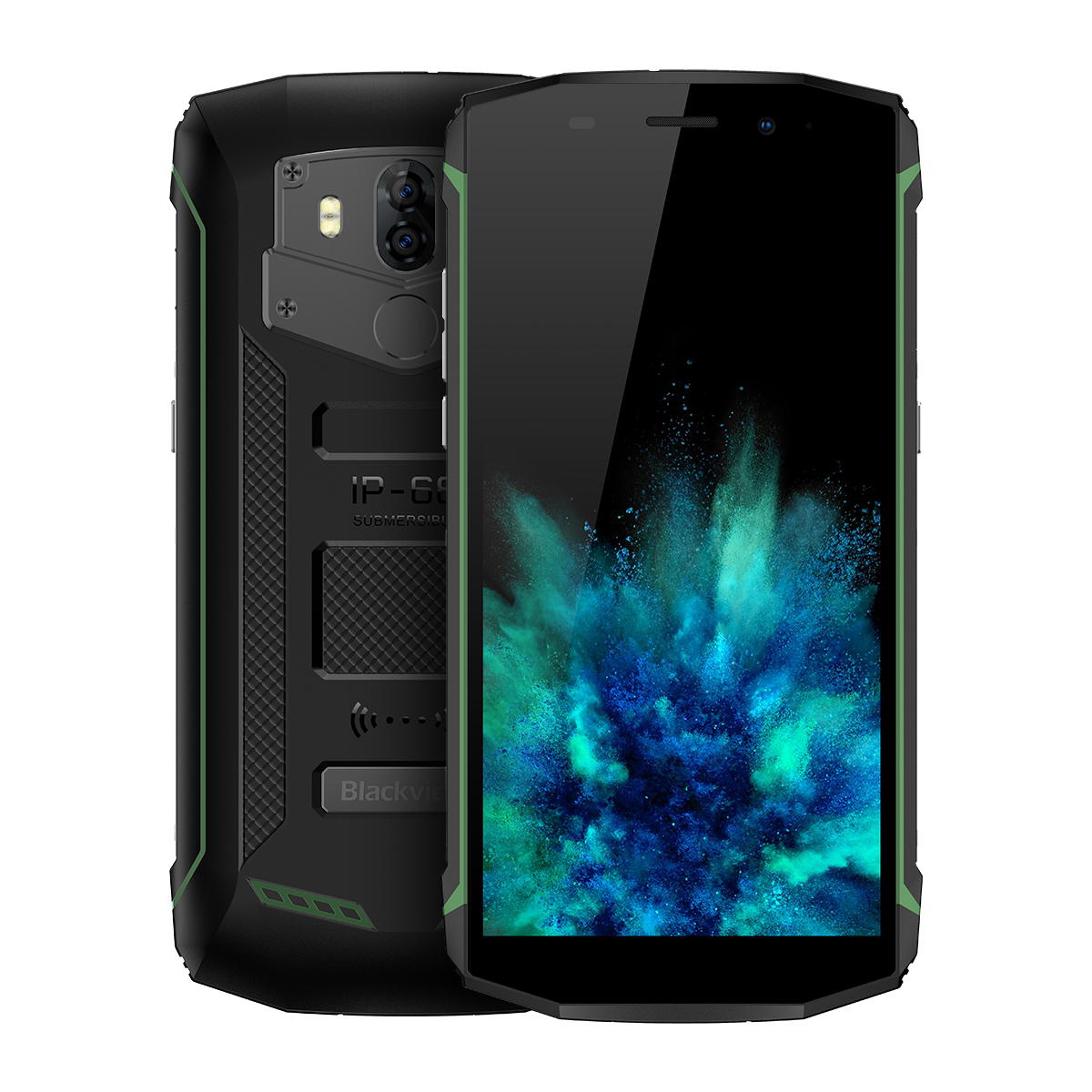 Blackview BV5800 Pro Mobile Phone Green