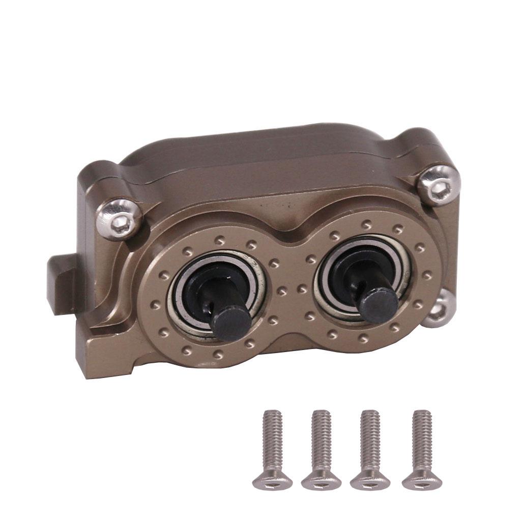CNC Metal SCX10 Gearbox Transfer Case for 1/10 RC Crawler Axial SCX10  90046 default_Metal CNC