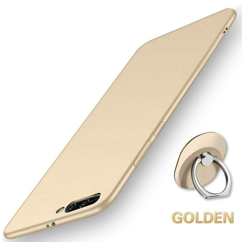 Stylish Ultra Slim Soft TPU Frosted Back Cover Non-slip Shockproof Full Protective Case for Huawei Y7 PRO