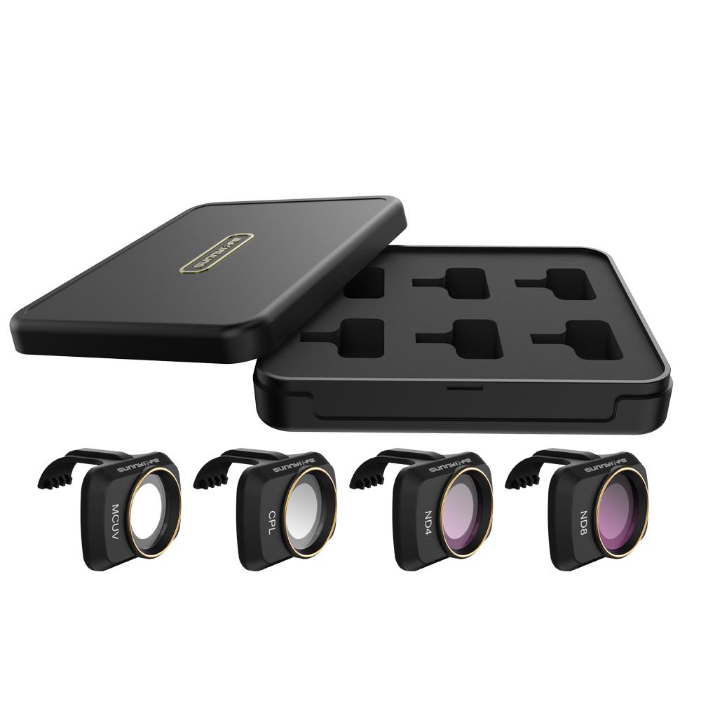 RC Drone Lens Filter Set ND CPL NDPL MCUV Kits for Mavic Mini Airplane Mini Camera Accessories Multi-layer Coating Optical Glass MCUV + CPL + ND4 + ND8