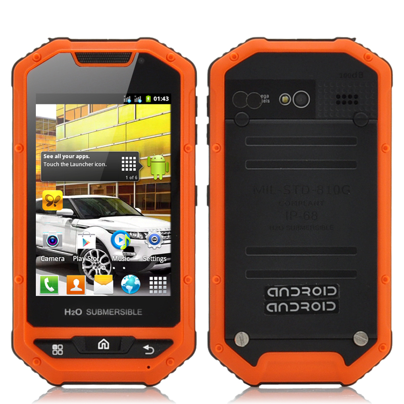 Android Rugged Mobile Phone - Range (O)