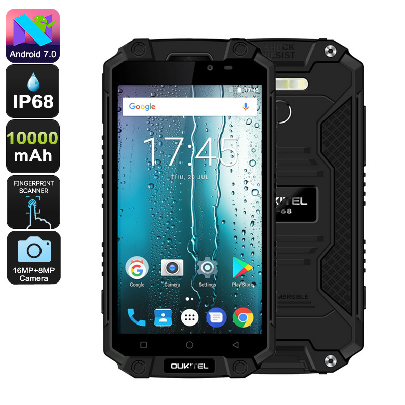 Oukitel K10000 Max Android Smartphone (Black)