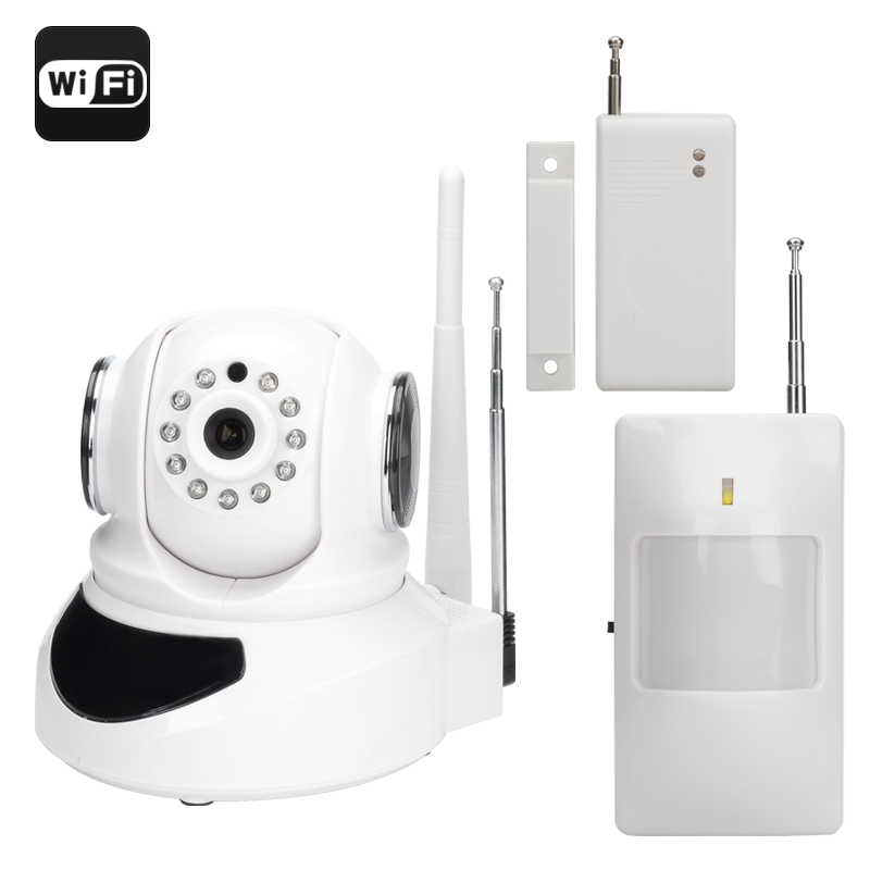 Wi-Fi Smart Home Security System