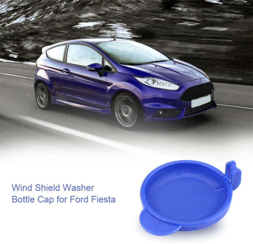 Auto Washer Bottle Cap Morechioce Car Windscreen Washer Wiper Fluid Reservoir Fit For Fiesta Mk6 01-08 1488251 2s61 17632ad As shown