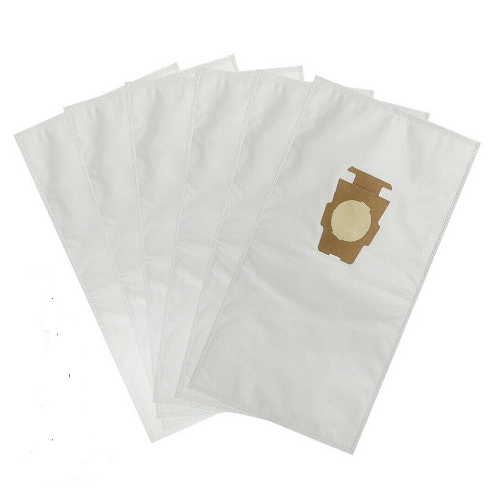 6pcs Universal Non Woven Cloth Bags Fit for Kirby Sentria G10 Vacuum Dust Bags As shown