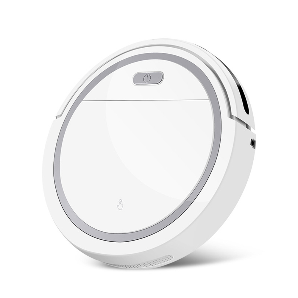 Robot  Vacuum  Cleaner Home Usb  Charging Automatic Sweeper sweeper with four motors white and gray