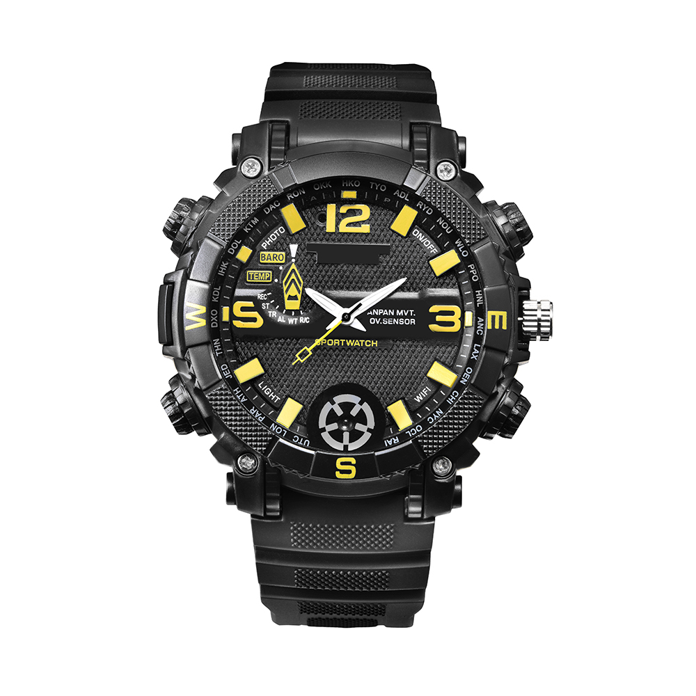 FOX9 Watch Type Camera Outdoor Smart Camera High Definition WIFI Remote Control LED Sports Wristwatch Camera Direct recording version-16G