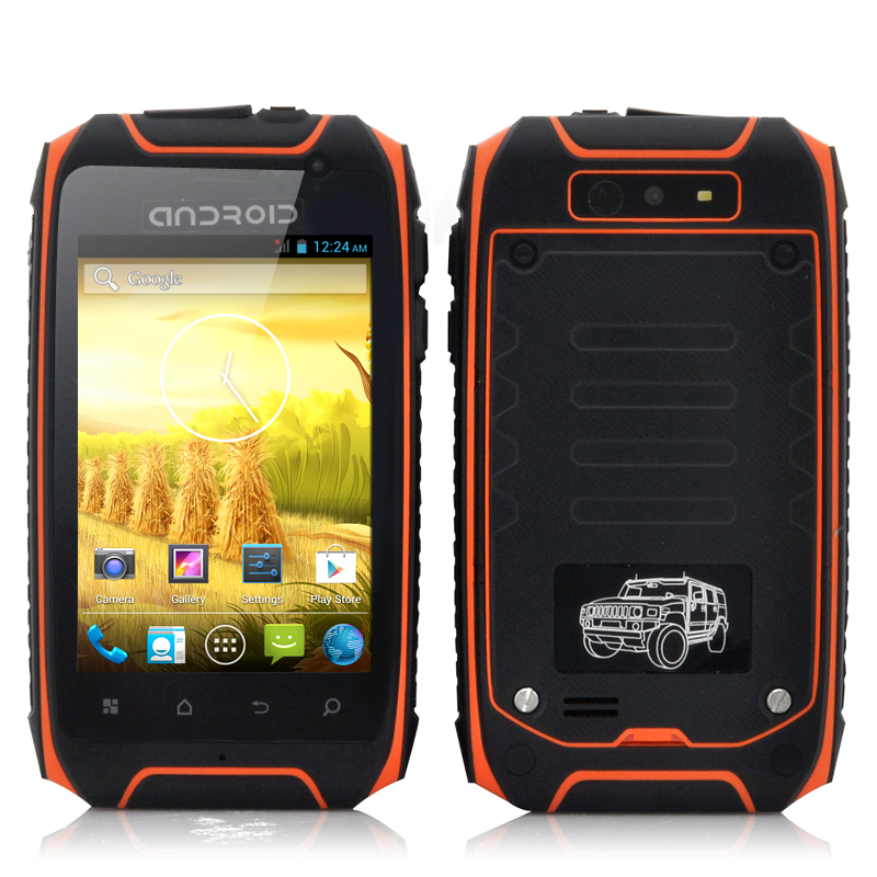 Rugged Android 4.2 Phone - Asteroid II (O)