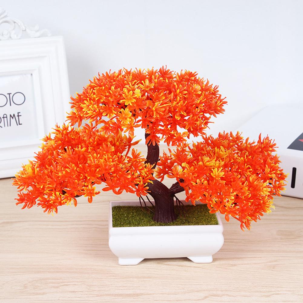 Artificial Guest-Greeting Pine Bonsai Mini Simulation Tree Plant Home Decor