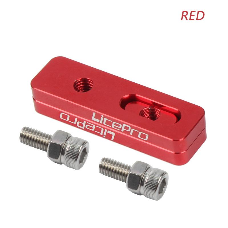 Litepro V Brake Extension 14 to 16 406 Change 451 Wheelset Special V Brake Extension Seat Extend Adjustable Red half car