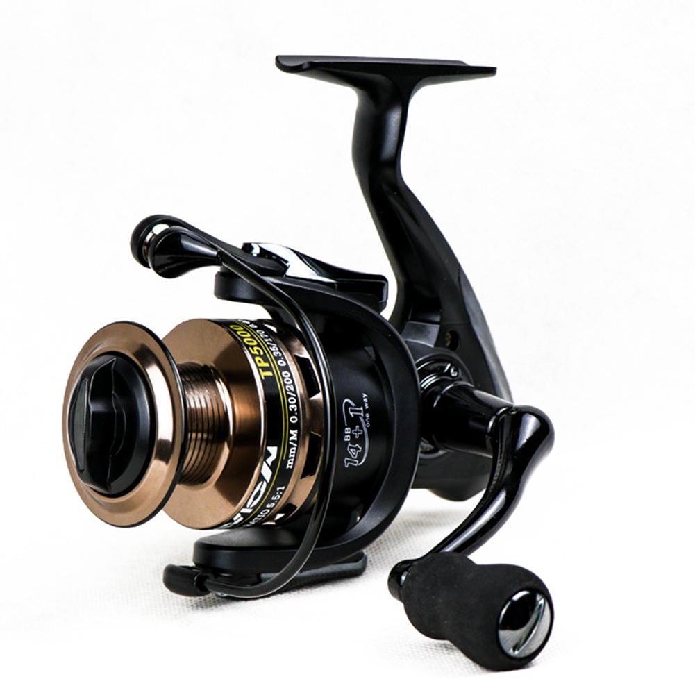 Full Metal Rocker Arm Gapless High Strength Spinning Fishing Wheel TP2000