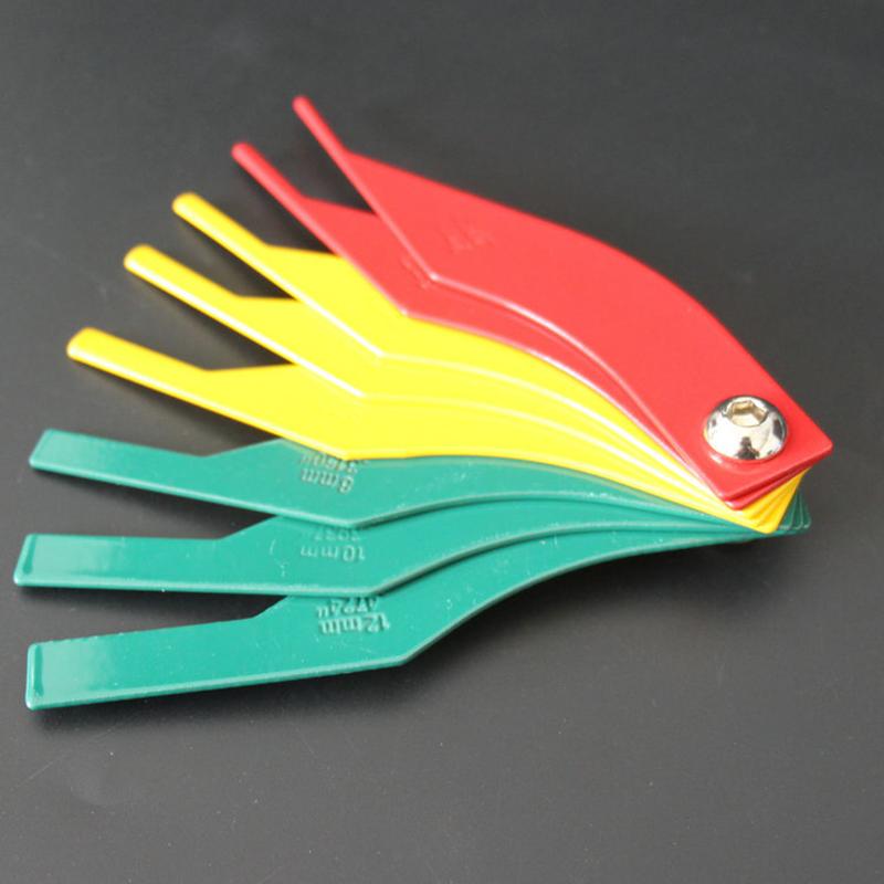 Car Brake Pad Thickness Gauge Wear Measuring Instrument Brake Pad Scale Tool  Brake pad scale