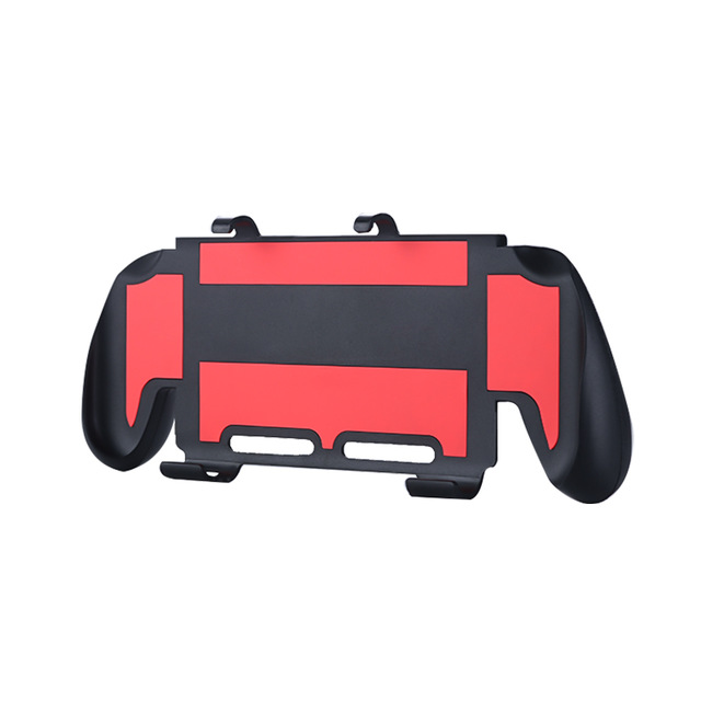 Grip Case For Nintend Switch Lite Ergonomic Design Joystick Gamepad Case For Switch Lite Console Accessories Protection Shell Cover red