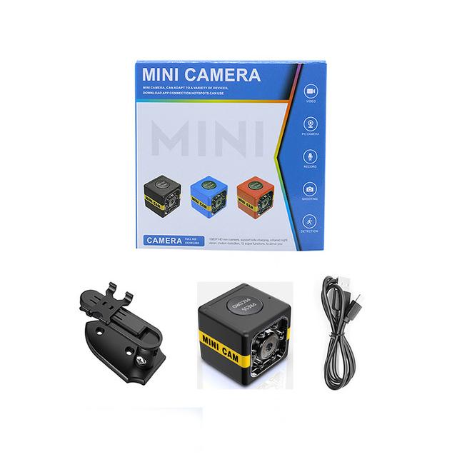FX01 Mini Camera HD 1080P Sensor Night Vision Camcorder Motion DVR Micro Camera Sport DV Video Small Camera  black