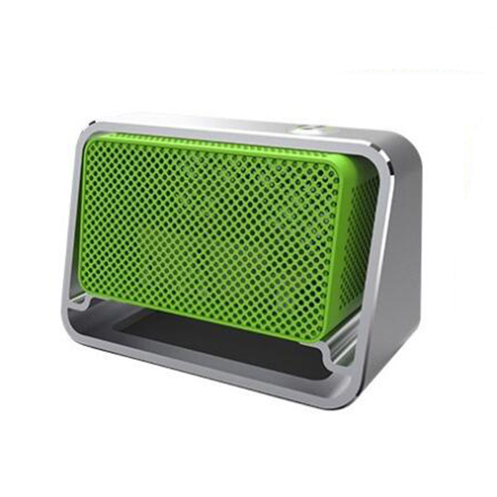 Car Air Purifier Ozone Generator Portable Air Cleaner Eliminate General Odor Car Generator Ozonizer Sterilization Odor White + green